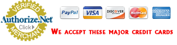 Louisville Tractor accepts payments all major credit cards via Authorize.net and Paypal.